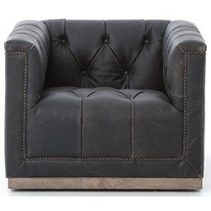 Four Hands Kensington Maxx Swivel Chair
