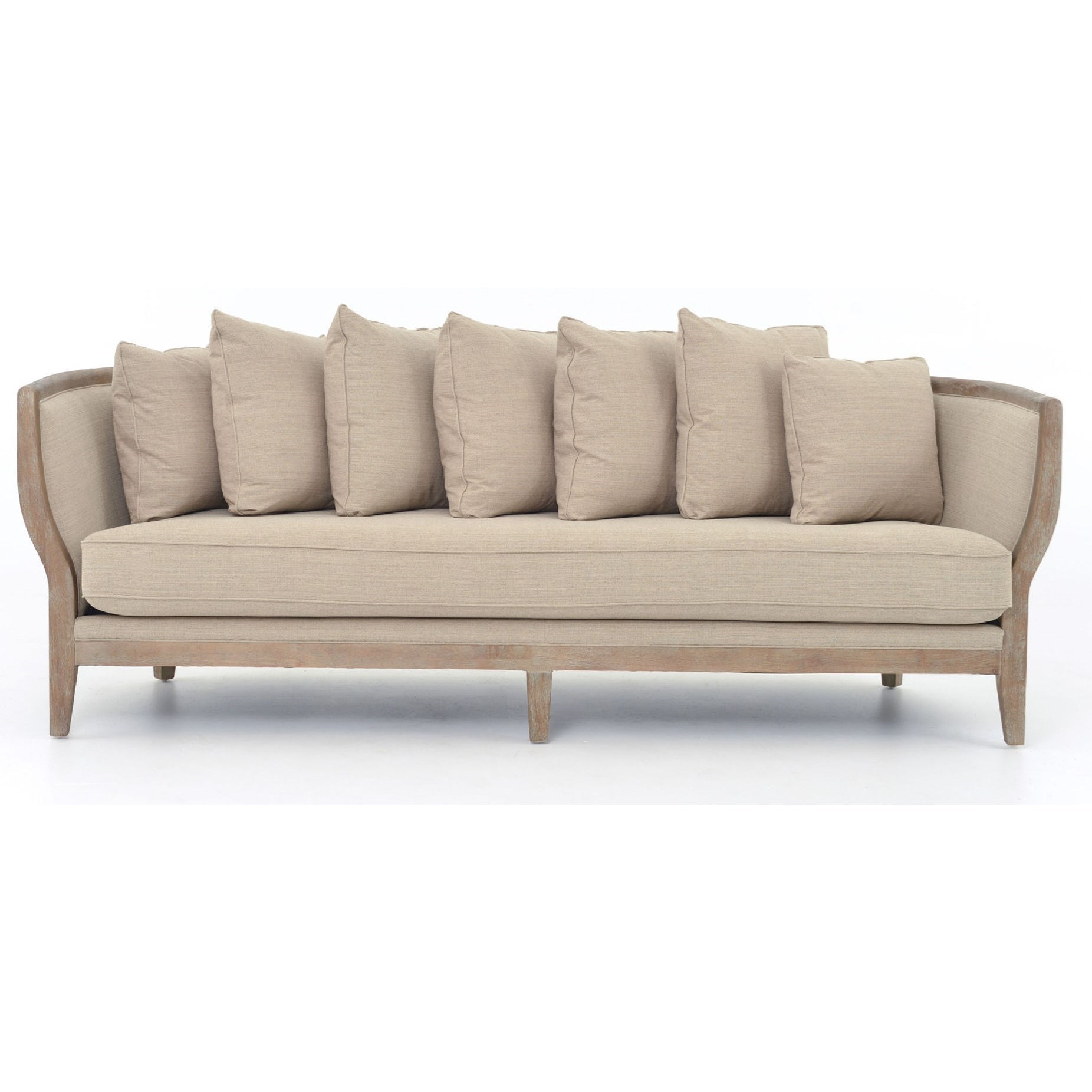 Four Hands Kensington Hayes Sofa with Hyde Clay Fabric - Item Number: CMIC-55Z-030