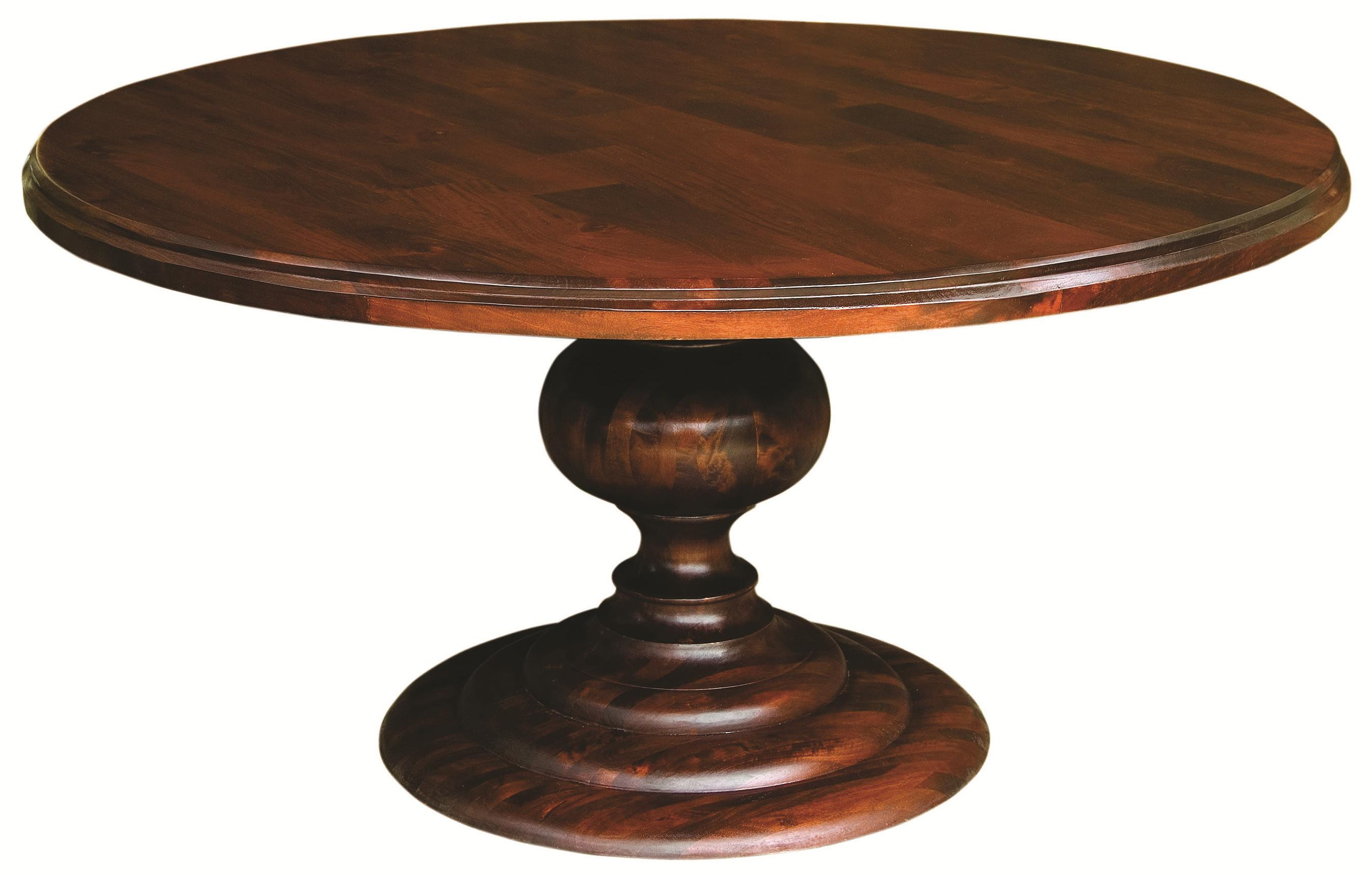 Four Hands Magnolia Round Dining Table - Item Number: IMGN-60R-DO