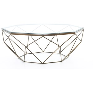 Four Hands Marlow Geometric Coffee Table