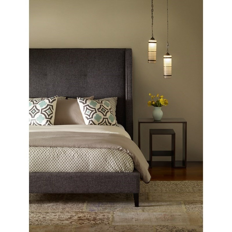Four Hands Metro Madison Upholstered Queen Bed - Item Number: CLIN-Q3BQ-111