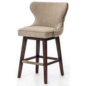 Urban Classic Designs Metro Julie Swivel Counter Height Stool