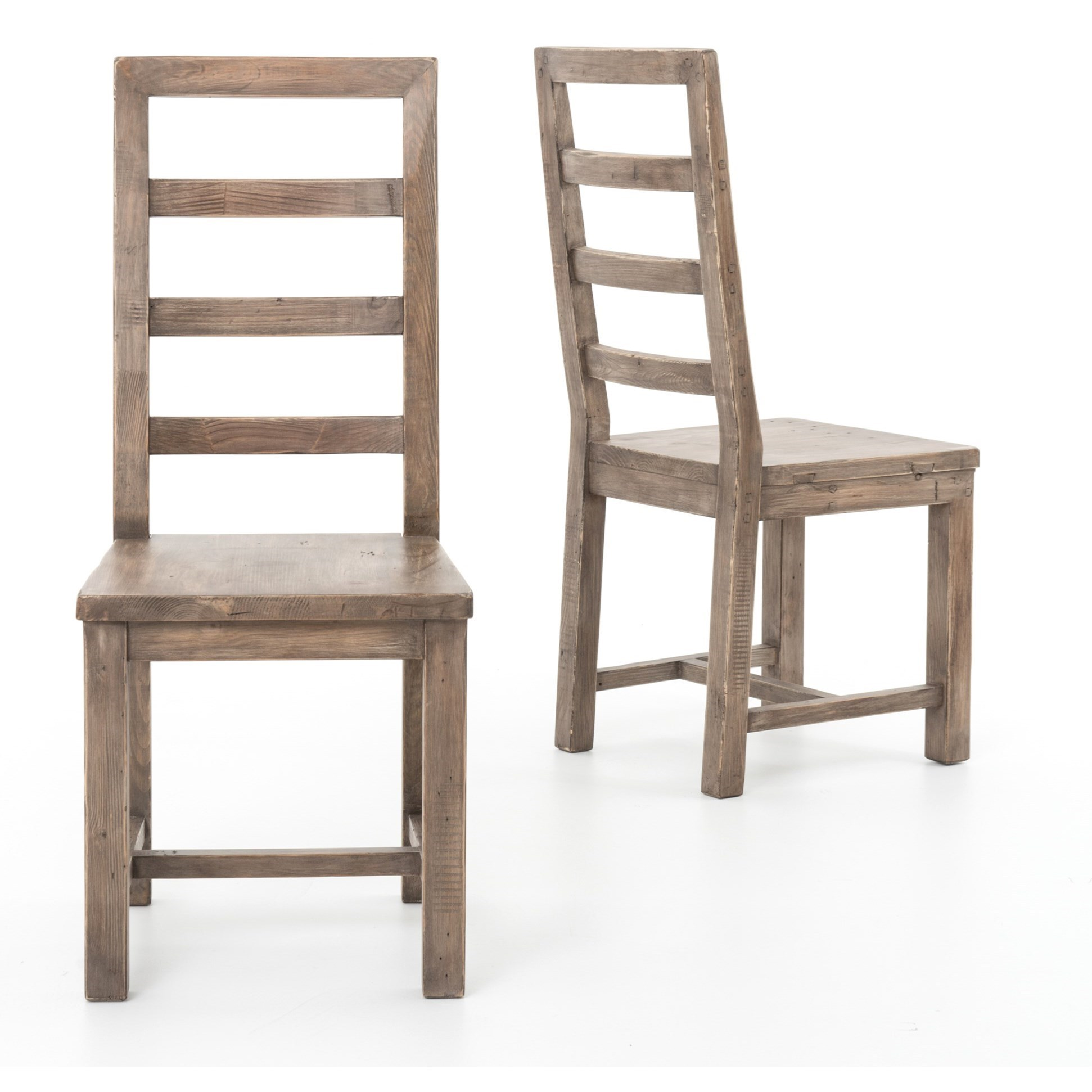 Four Hands Post and Rail Dining Chair - Item Number: VPRD-02T-11