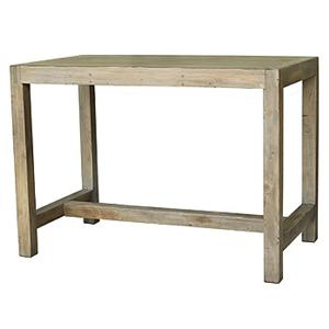 Four Hands Post and Rail Reclaimed Wood Pub Table
