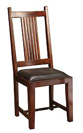 Four Hands Provence Dining Chair Leather Seat