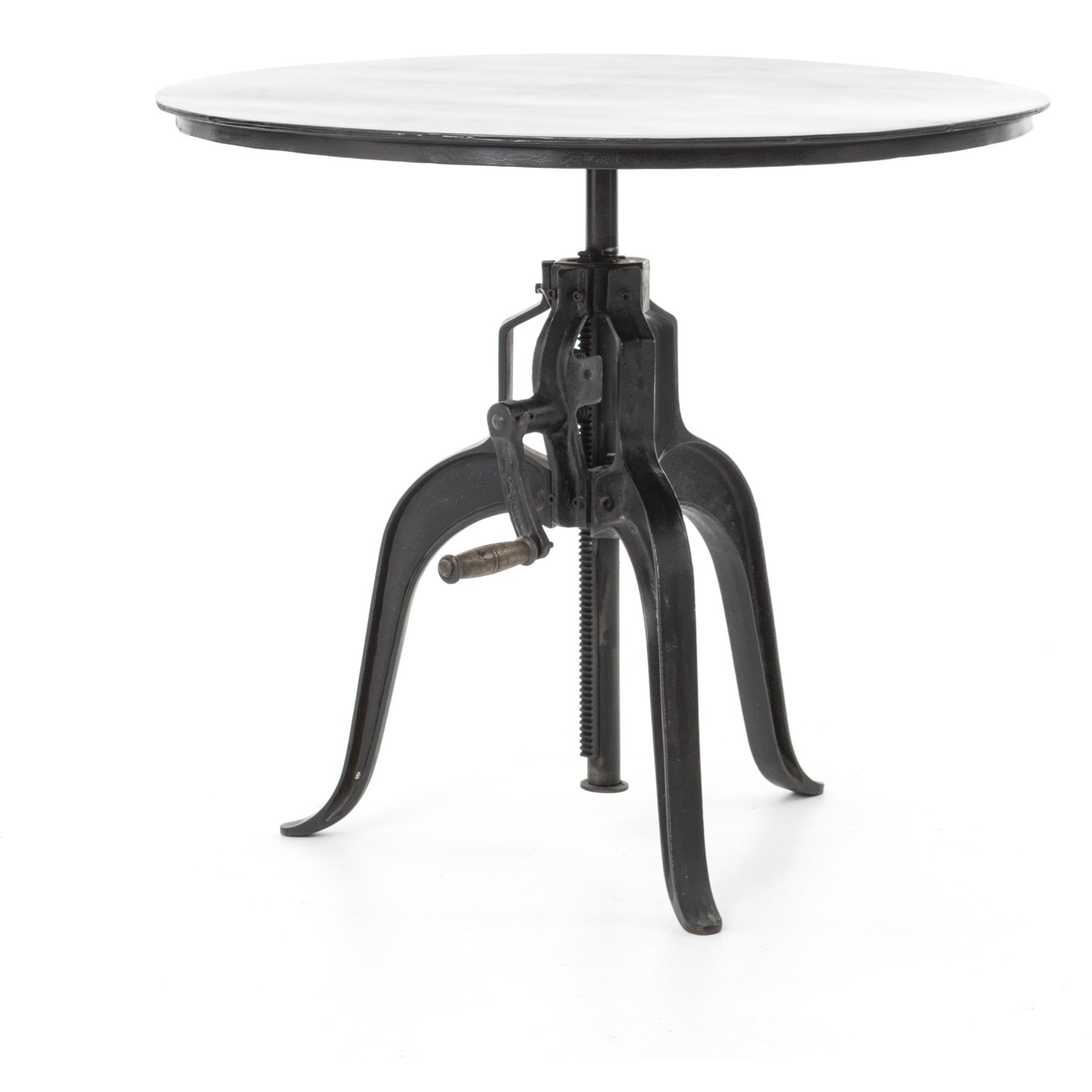 Four Hands Rockwell Crank Adjustable Side Table - Item Number: I80007-213