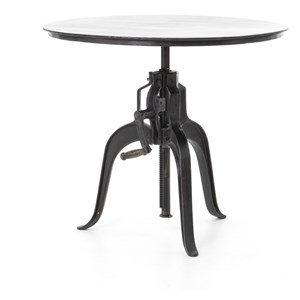 Four Hands Rockwell Crank Adjustable Side Table