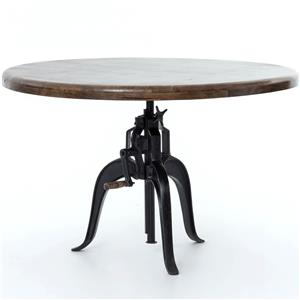 Four Hands Rockwell Adjustable Round Dining Table