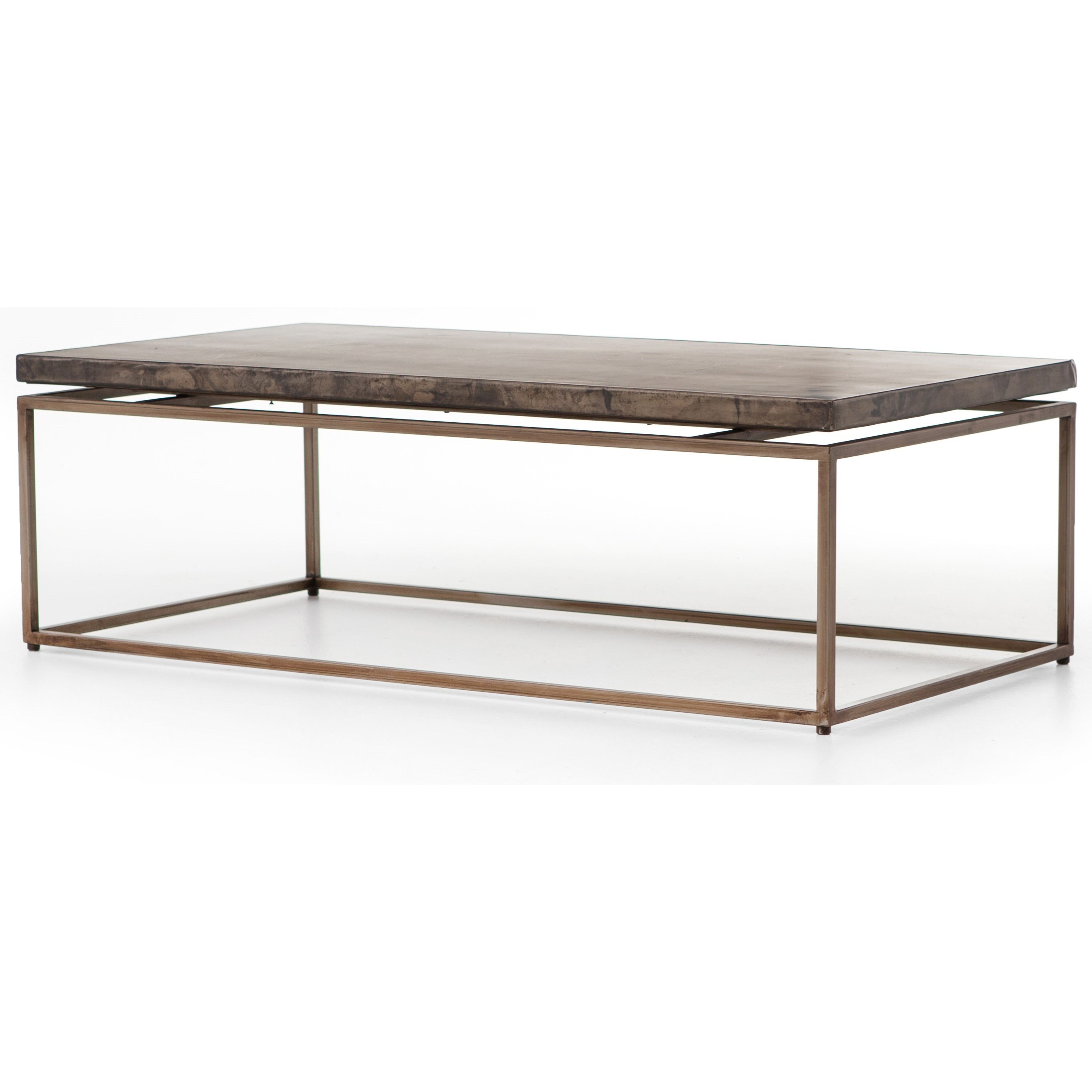 Four Hands Wesson Roman Coffee Table - Item Number: UWES-008