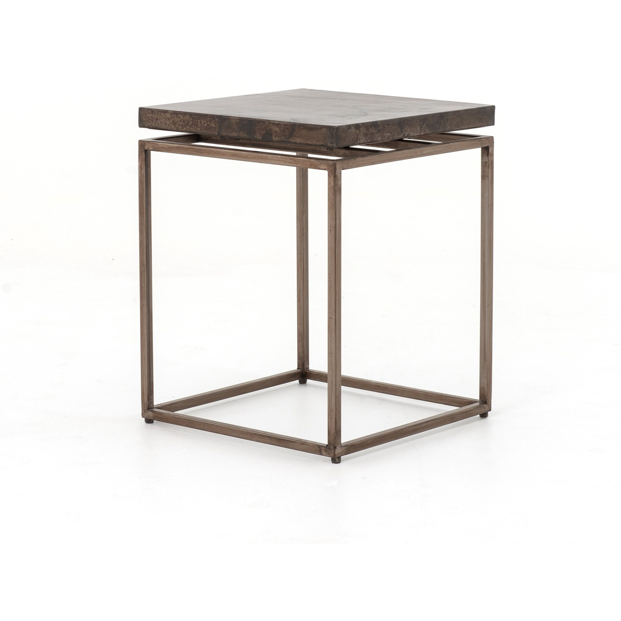 Four Hands Wesson Roman Side Table - Item Number: UWES-009