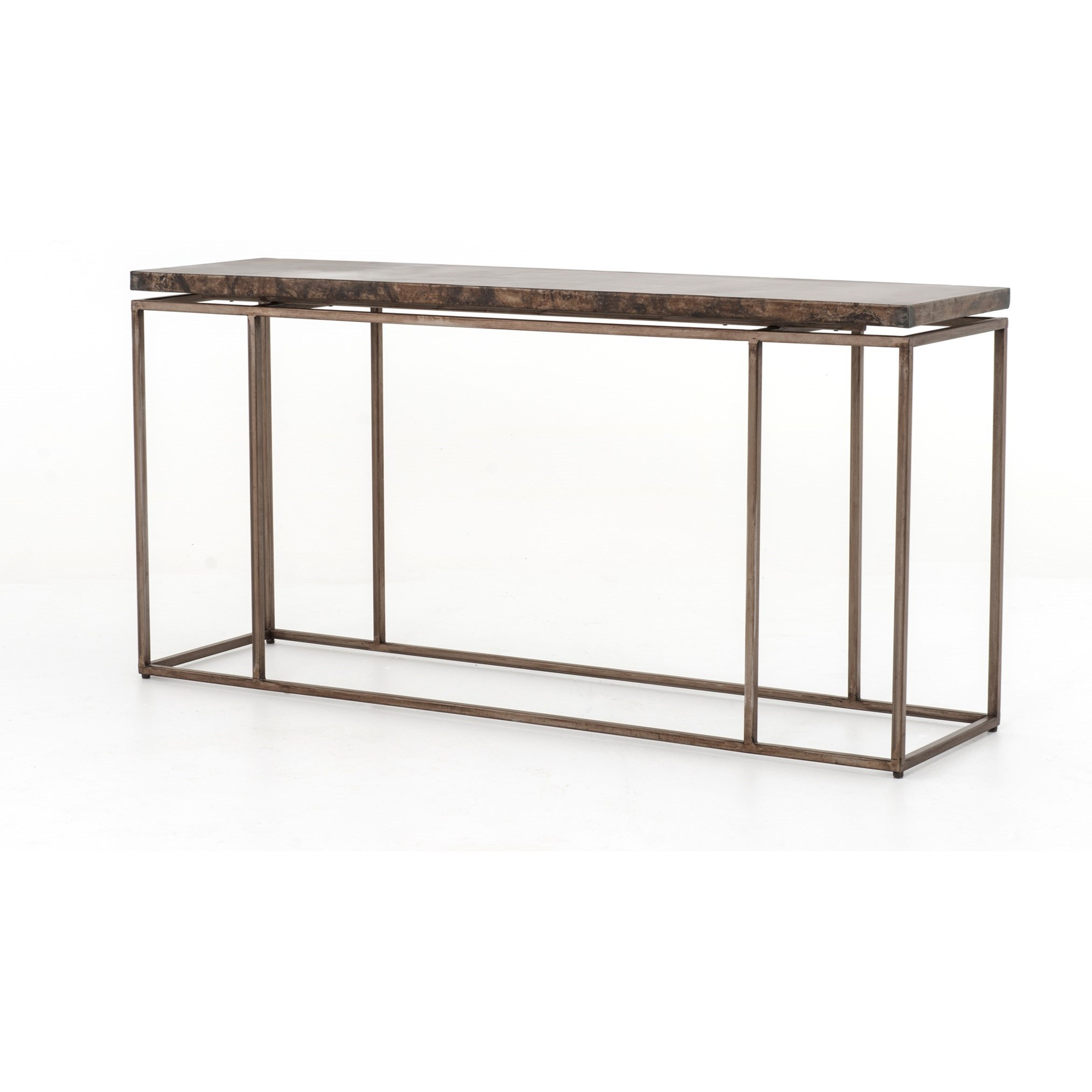 Four Hands Wesson Roman Console Table - Item Number: UWES-010