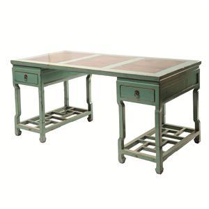 Four Hands Zhang Large Lattice Desk