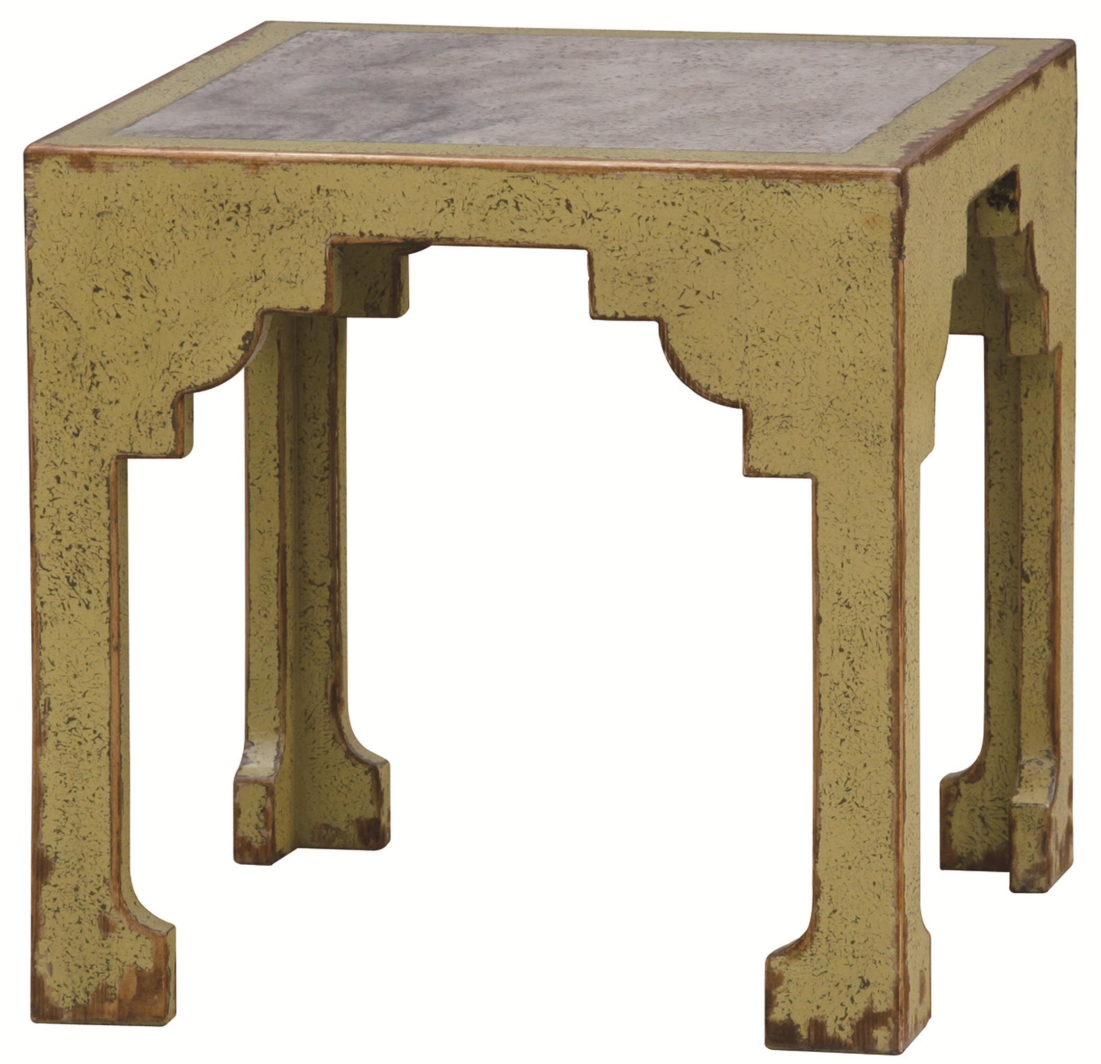 Four Hands Zhang Accent Table - Item Number: CZHA-D2S-MGRN
