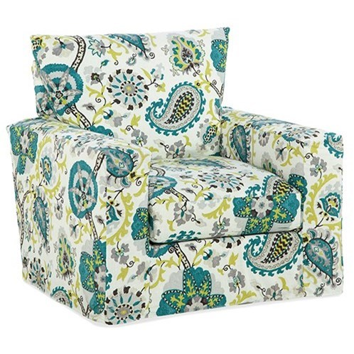 Accent Chairs Upholstered Chair by Four Seasons Furniture at Jacksonville Furniture Mart
