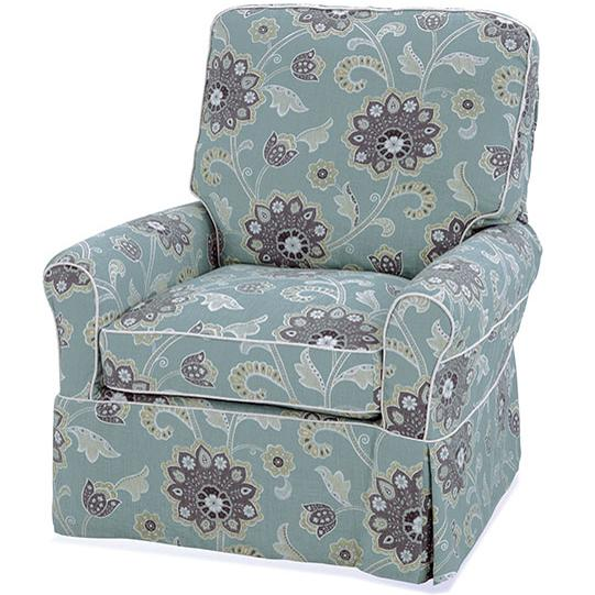 Accent Chairs Transitional Liza Chair by Four Seasons Furniture at Jordan's Home Furnishings