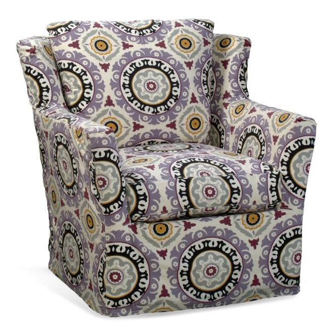 Four Seasons Furniture Porter F Upholstered Swivel Glider