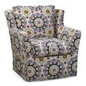 Four Seasons Furniture Porter F Upholstered Swivel Glider Chair - Item Number: TSAC69G
