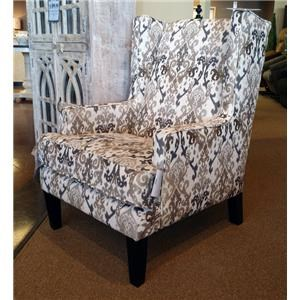 Franklin Chrissy Marble Wing Chair