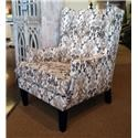 Franklin Chrissy Marble Wing Chair - Item Number: 2197 1620-06