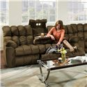 Franklin Brayden Reclining Sofa with Table, Lights & Storage - Item Number: 44039 8225-12