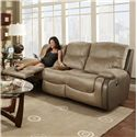 Franklin Holbrook Double Reclining Sofa - Item Number: 45342-8318-26-7304-15