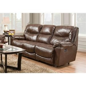 Franklin 457 Calloway Leather Power Reclining Sofa