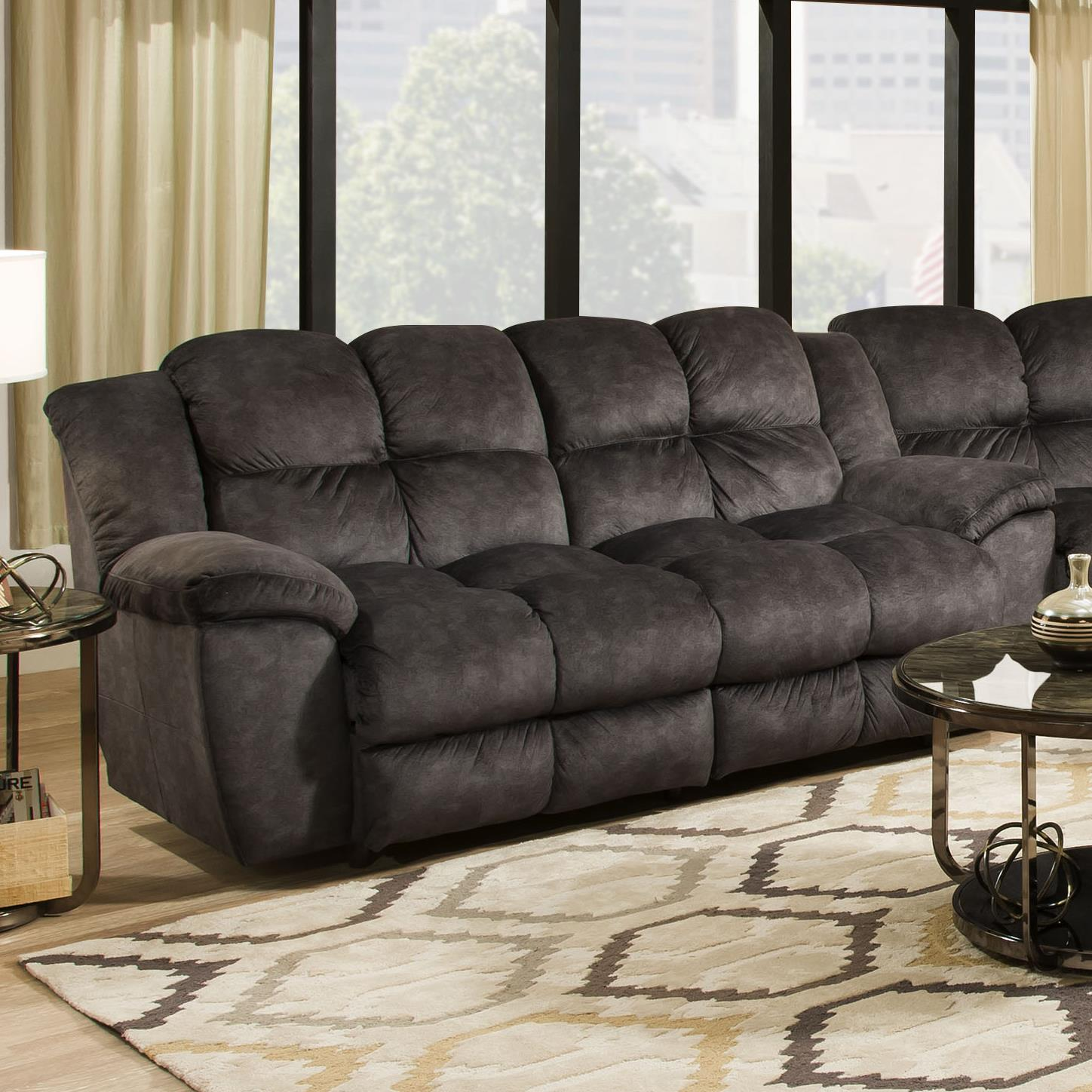 Franklin 461 Power Double Reclining 2 Seat Sofa - Item Number: 46143-8415-03