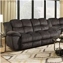 Franklin 461 Double Reclining 2 Seat Sofa  - Item Number: 46143-8415-03