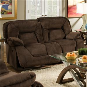 Franklin 473  Reclining Loveseat