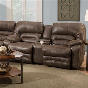 Franklin Legacy Reclining Console Loveseat