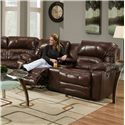 Franklin Legacy Reclining Console Loveseat - Item Number: 50034-LM47-16
