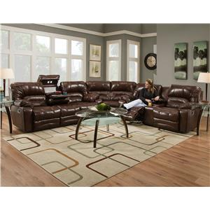 Franklin Legacy Reclining Sectional Sofa