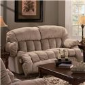 Franklin 524 Casual Rocker Recliner Loveseat with Lift-Up Footrests - 52423