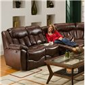 Franklin 564 Reclining Sofa - Item Number: 56442 LM 59-15