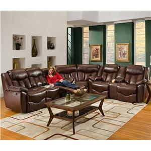 Franklin 564 3 Piece Reclining Sectional