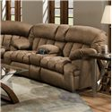 Franklin 568 Reclining Console Loveseat - 56834-8405-15