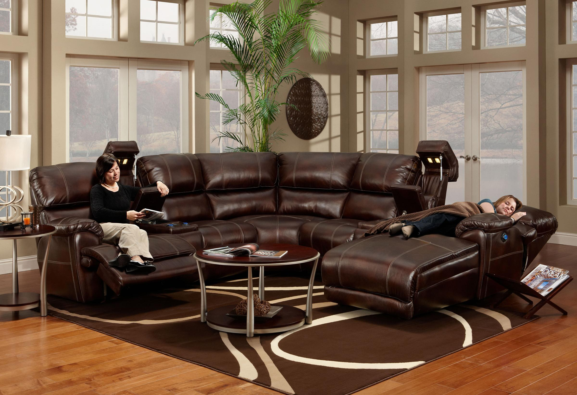 Franklin 572 Reclining Sectional Sofa With Chaise Ahfa Sofa  ~ Sectional Sofa Indianapolis