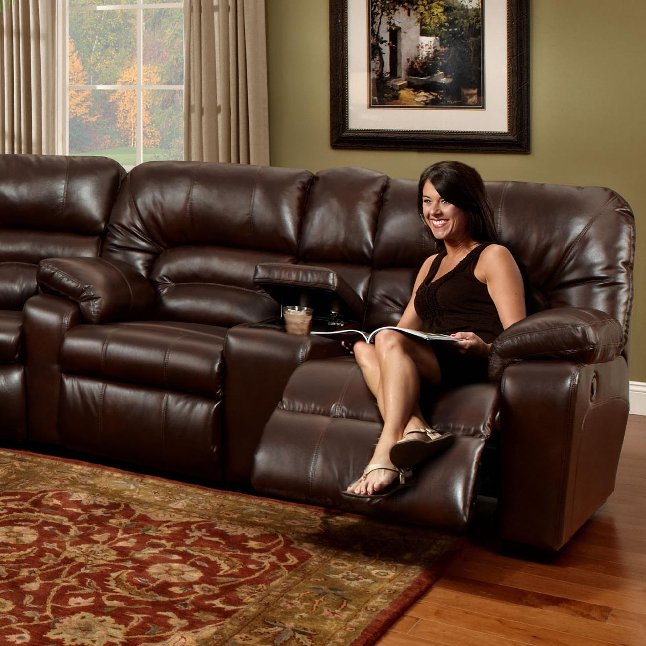 596 Console Loveseat by Franklin at Wilcox Furniture