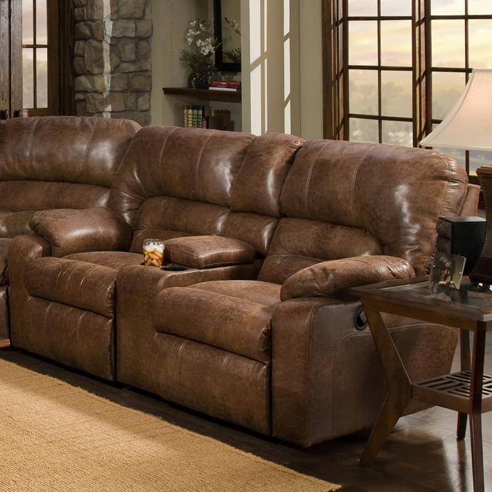 Franklin 596 Reclining Console Loveseat Olinde 39 S Furniture Reclining Love Seat