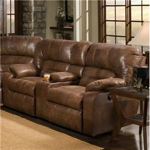 Franklin 596 Console Loveseat