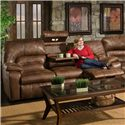 Franklin 596 Sofa with Lights, Drawer and Storage - Item Number: 59639 8934-15