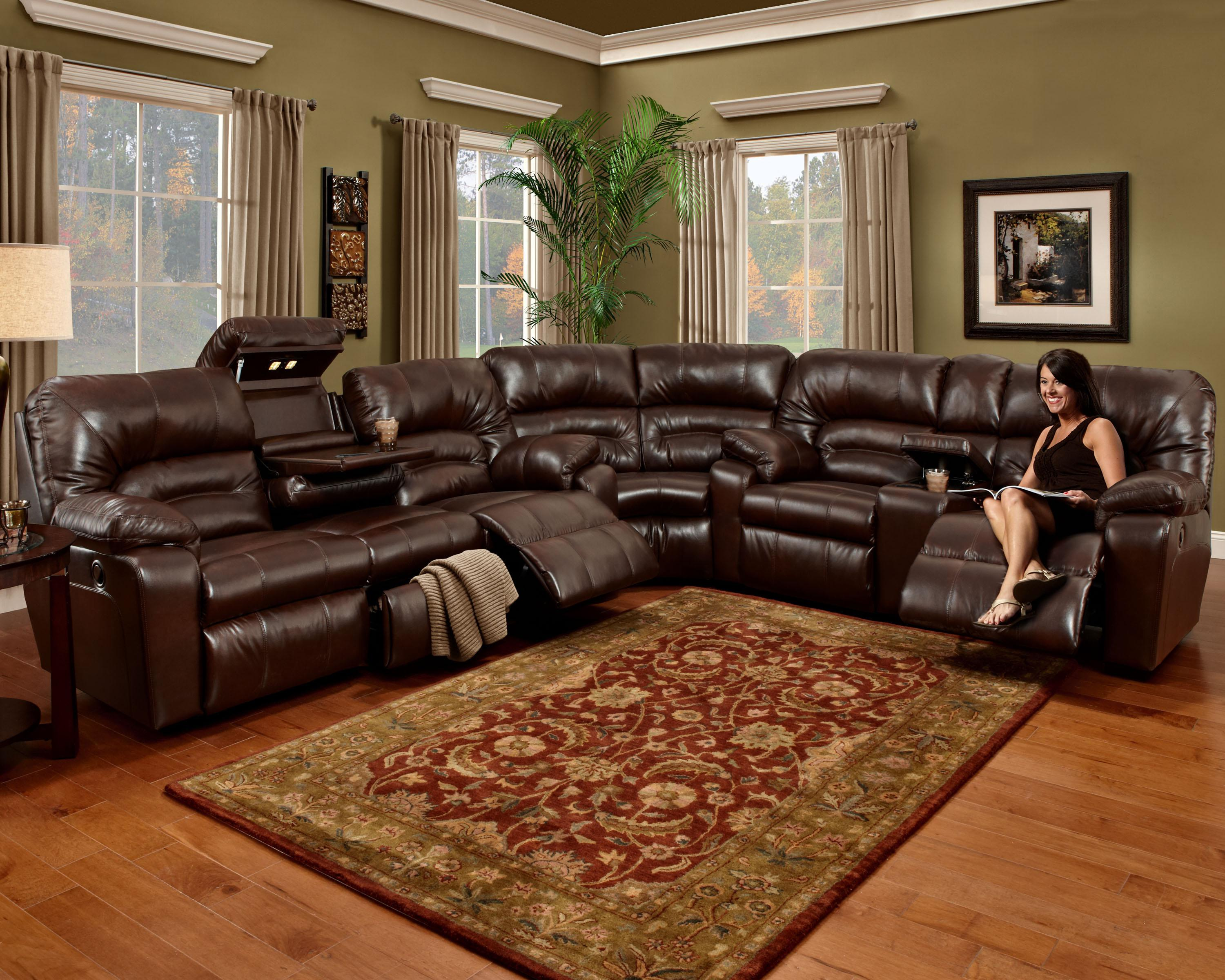 596 3 Piece Sectional by Franklin at Wilcox Furniture