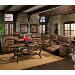 Franklin 596 3 Piece Sectional