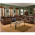 Franklin 596 3 Piece Sectional - Item Number: 59639+99+34