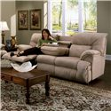 Franklin 6460 Sofa Recl / Table - Item Number: 64644