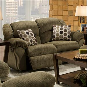 Franklin 691  Gliding Reclining Loveseat