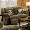 Franklin 691  Gliding Reclining Loveseat - Item Number: 69114 8124-35