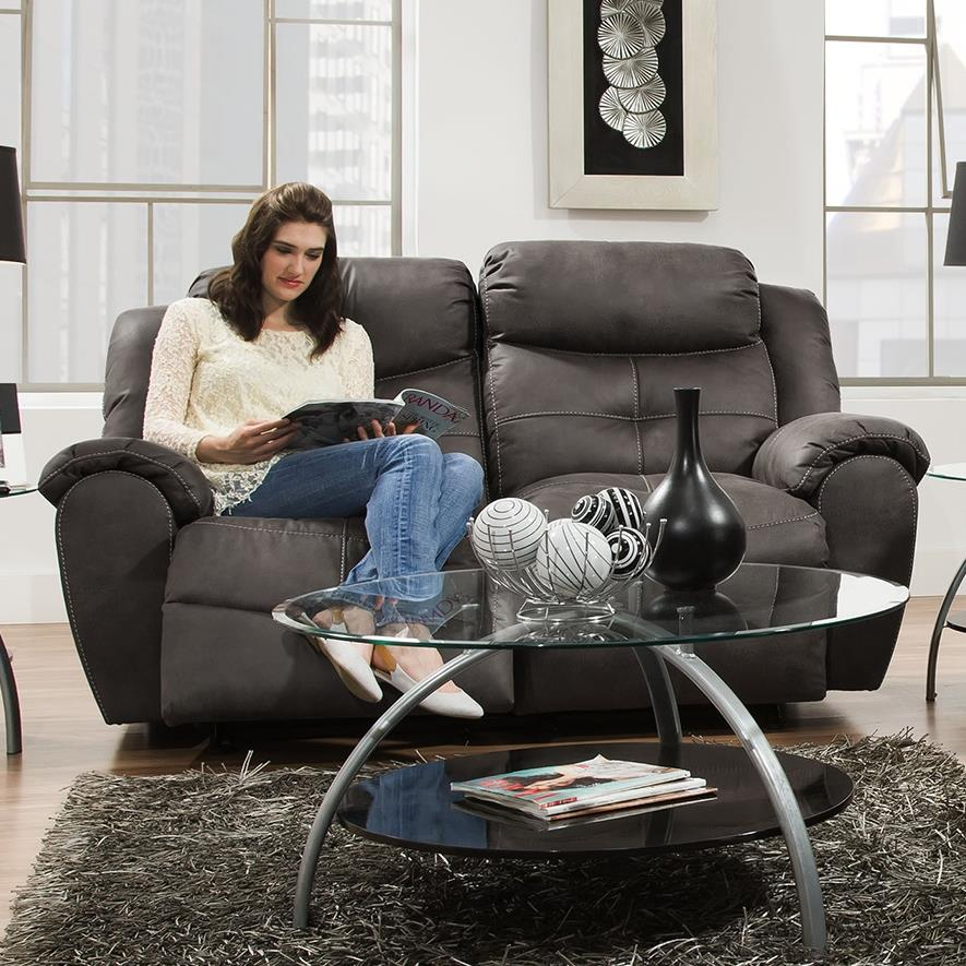 Lisbon Rocking Reclining Loveseat by Franklin at Lagniappe Home Store