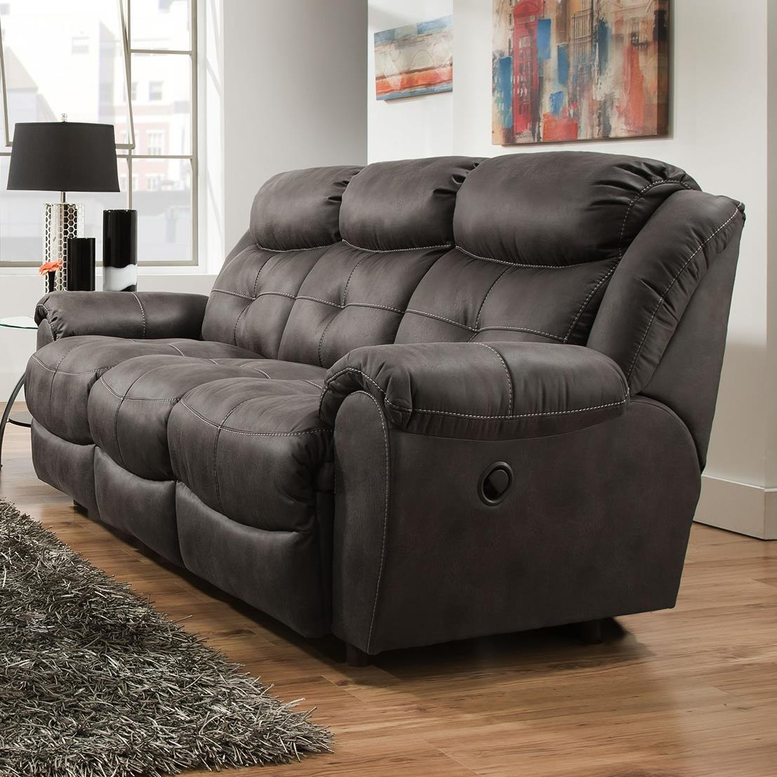 Lisbon Reclining Sofa by Franklin at Furniture Superstore - Rochester, MN