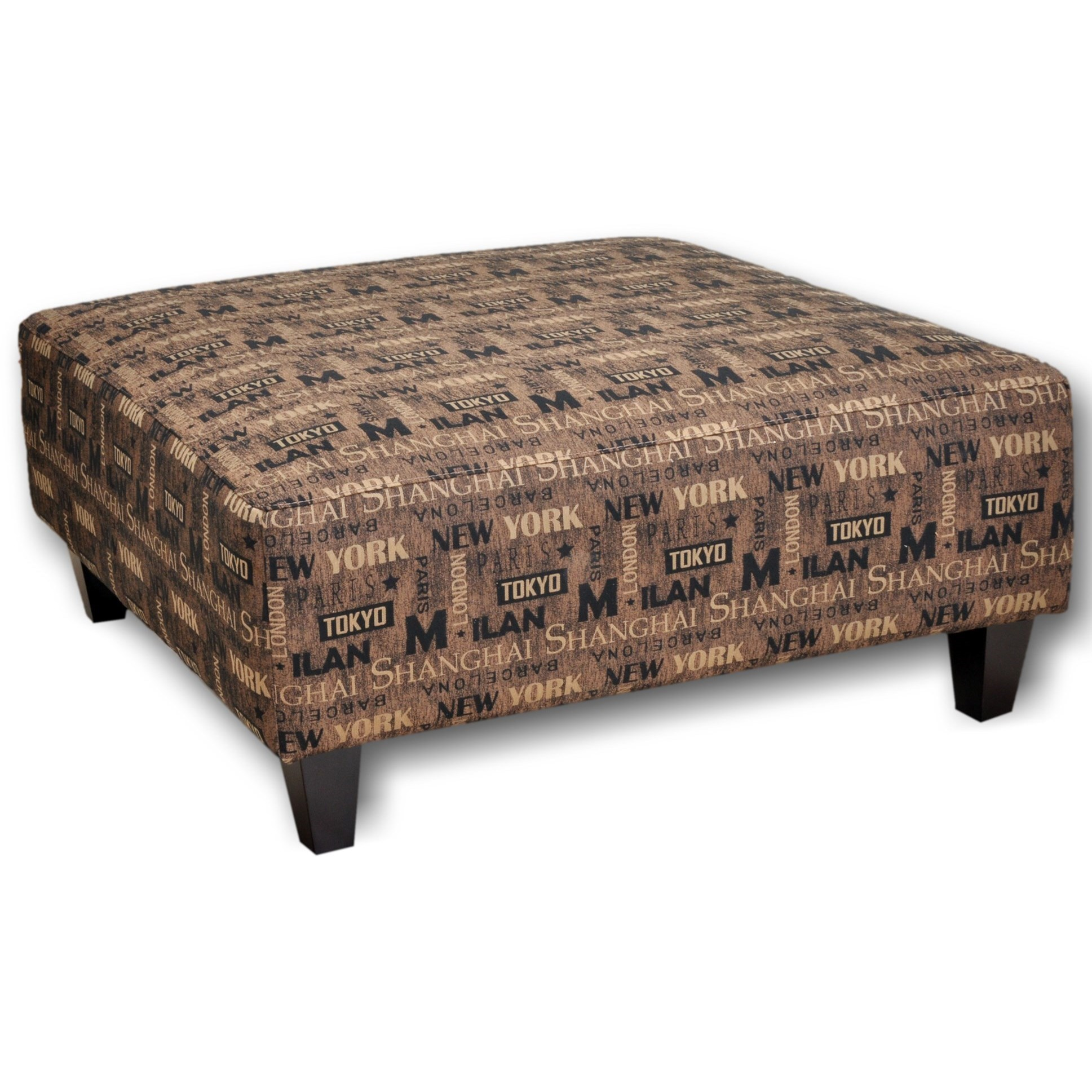 71418 Ottoman by Franklin at Turk Furniture